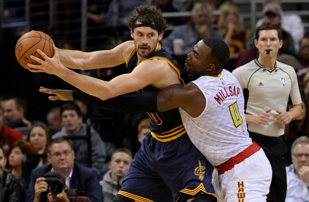 VIDEO: Cleveland Cavaliers võitis mulluse poolfinaali kordusmatši