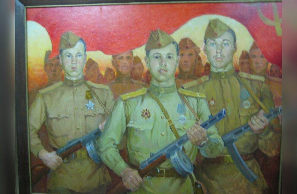 """Lätis """"tähistati"""" küüditamist pronkssõdur Aljoša rüvetamisega"""