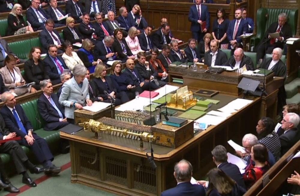 Briti parlament hakkab kaaluma alternatiive May Brexiti-kokkuleppele