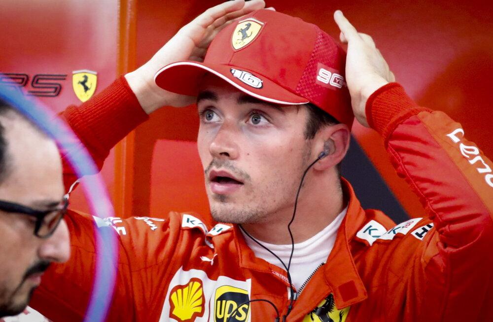 Leclerc andis kolmanda vabatreeningu esikohaga Ferrarile lootust, Verstappen oli üllatavalt aeglane