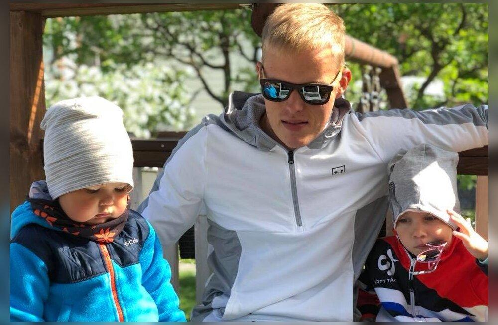 FOTO | Harjumatu olukord! Ott Tänak vaatab MM-rallit koos lastega kodust