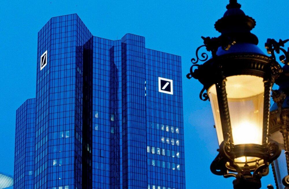 Deutsche Banki peakorter Frankfurdis