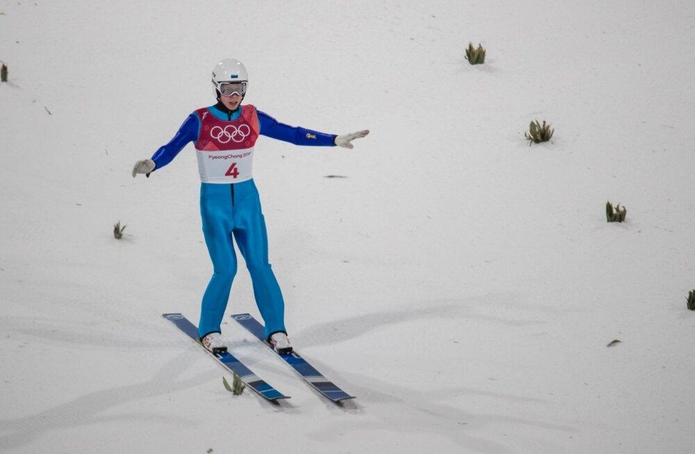PyeongChang2018 Meeste normaalmäe suusahüpped