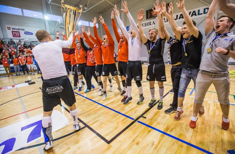 Käsipalli Eesti meistrivõistlused - Põlva Serviti vs HC Kehra