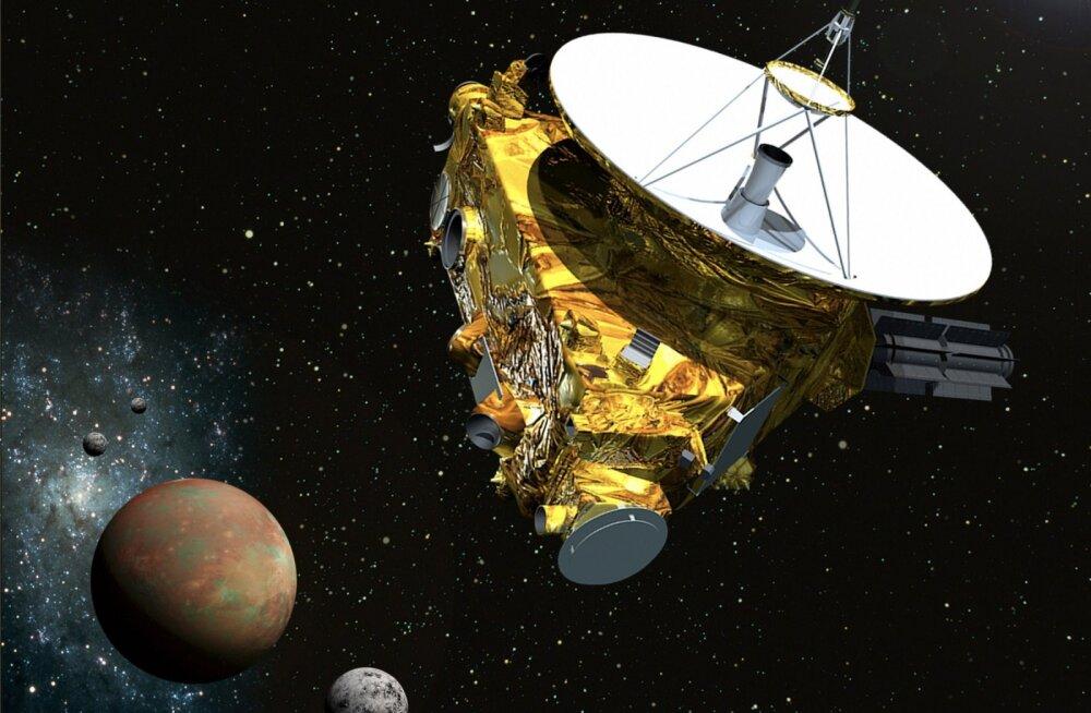 Kui ruttu liigub meieni info, mida kosmosesond New Horizons saadab Pluuto-tagusest ruumist?