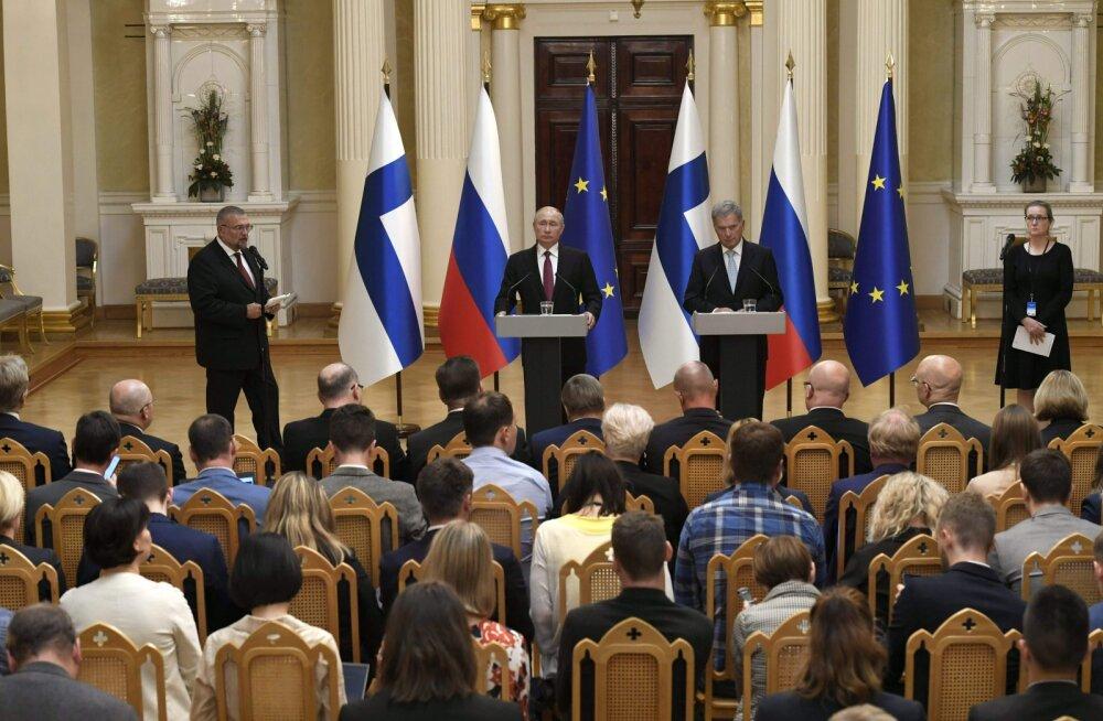 Raport: Soome ei ole Venemaa jaoks enam nii tähtis mõjutamisobjekt kui nõukogude ajal