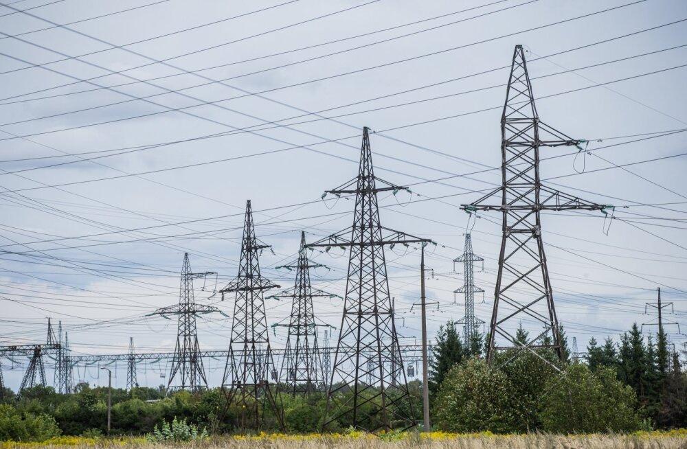 Нарвские электростанции помогли предотвратить повышение цен, но вечером электричество будет очень дорогое