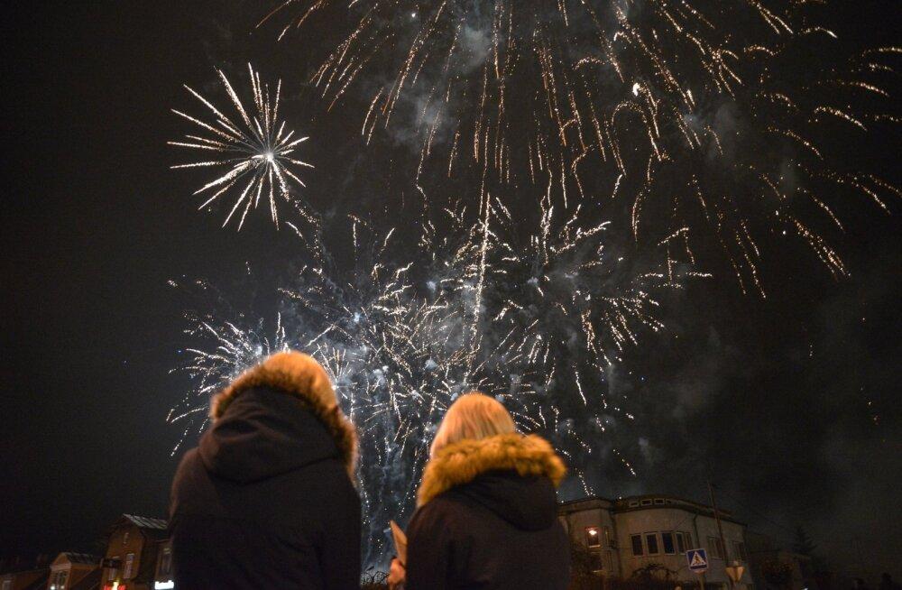 Uue aasta vatuvõtmine Viljandis