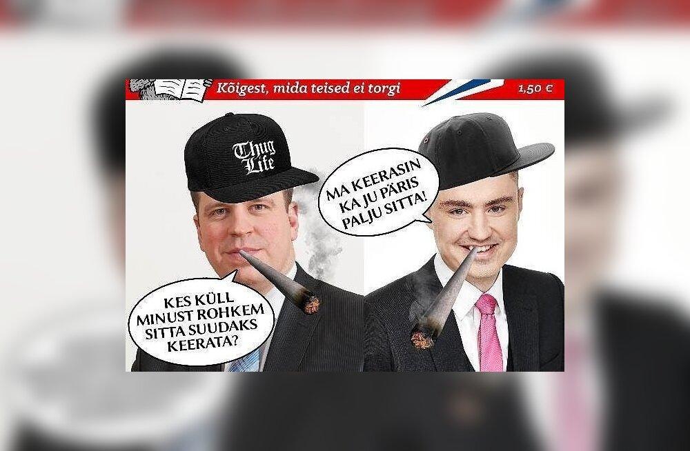 Совет по прессе оправдал Delfi и EPL в споре с журналом Torkaja, публиковавшим сатиру на все партии кроме EKRE