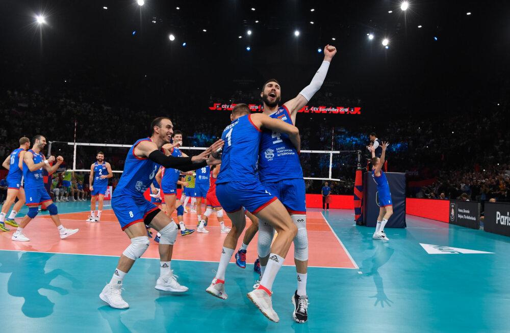 VIDEO | Olulise toeta jäänud Sloveenia ime sai otsa, Robert Tähe tiimikaaslane vedas Serbia Euroopa meistriks