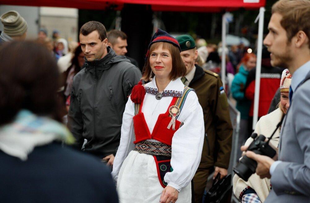 FOTOD | President Kersti Kaljulaid tuli tantsupeole