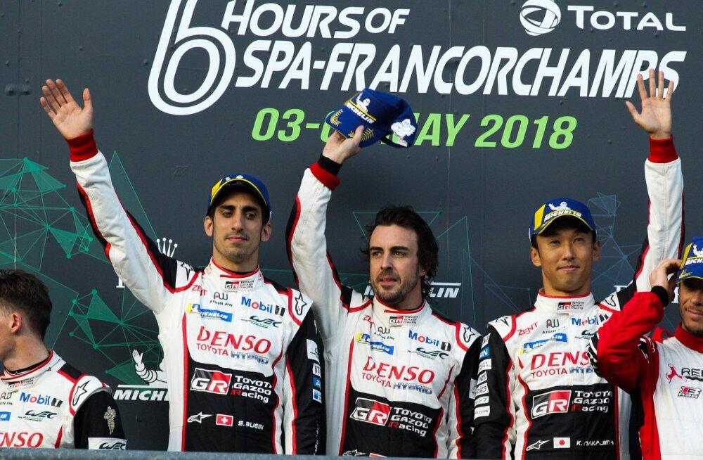 Keskel Fernando Alonso