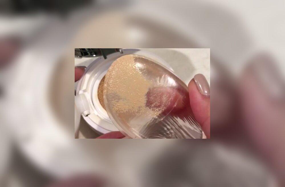 Sotsiaalmeedias kogub populaarsust meigitoode, mis meenutab silikoonrinda