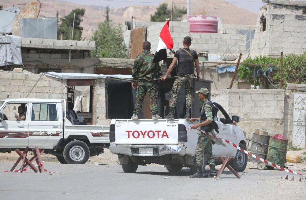 Venemaa esindaja sõnul läks Süüria Ida-Ghouta piirkond valitsusvägede kontrolli alla