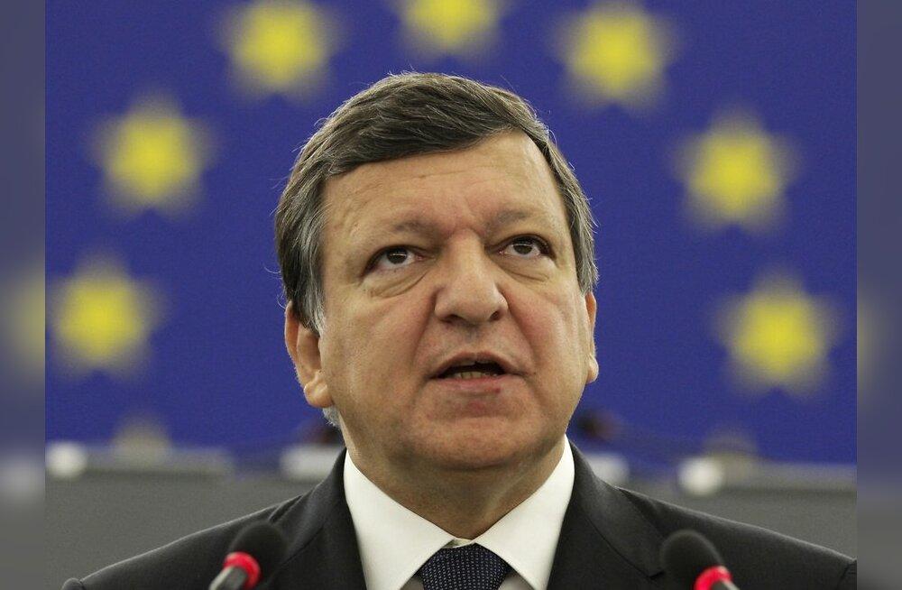 Barroso tahab eurotsooni alalise päästefondi kiiremat käivitamist