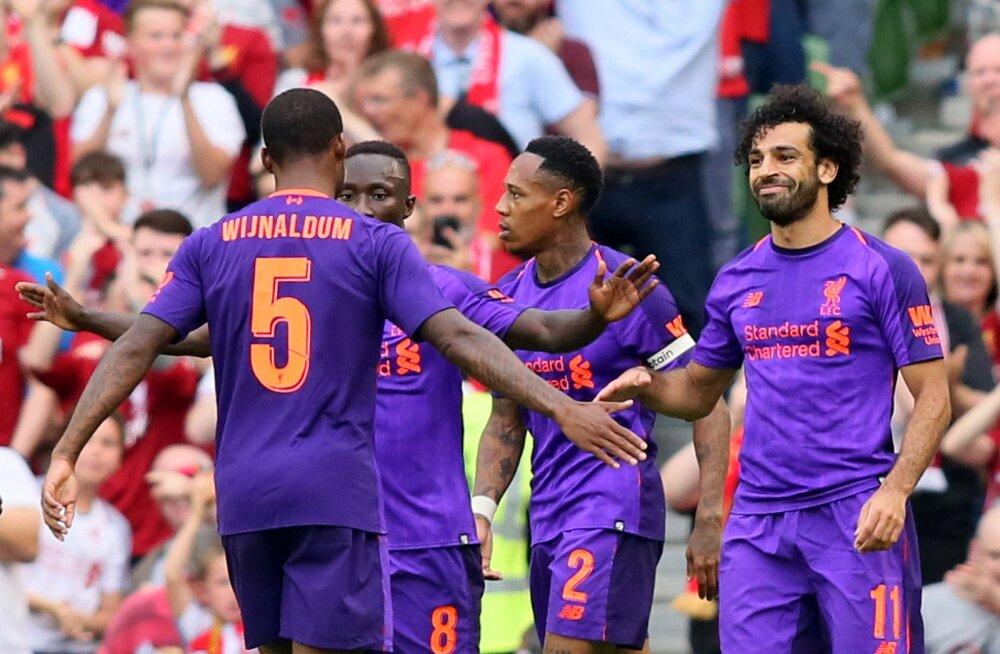 VIDEO | Hooajaks valmis! Liverpool purustas Itaalia tippklubi lausa 5:0, vasakkaitsja lõi iluvärava