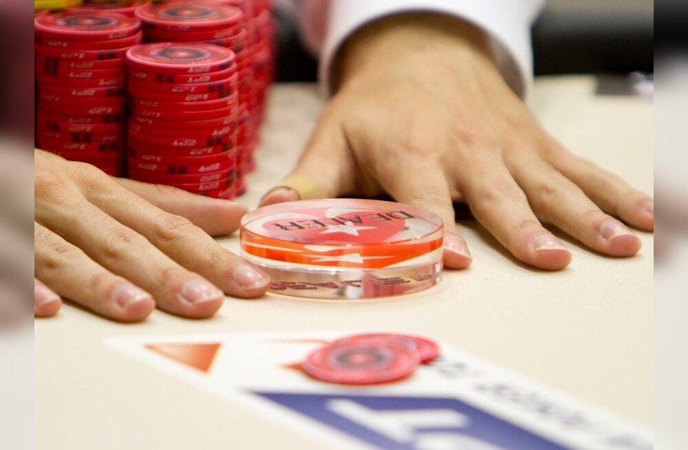 Eestlane jõudis esmakordselt Euroopa pokkeriturnee põhiturniiri finaallauda
