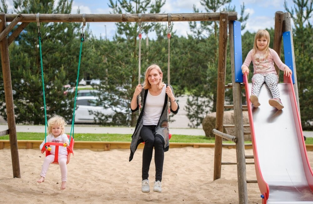 """Pärast Soomes veedetud lapsepõlve on Kadri Papp ennast leidnud Eestis ja siin oma pere ilusasti sisse seadnud. """"Ma tulin ikkagi kodutunde pärast tagasi,"""" põhjendab ta."""