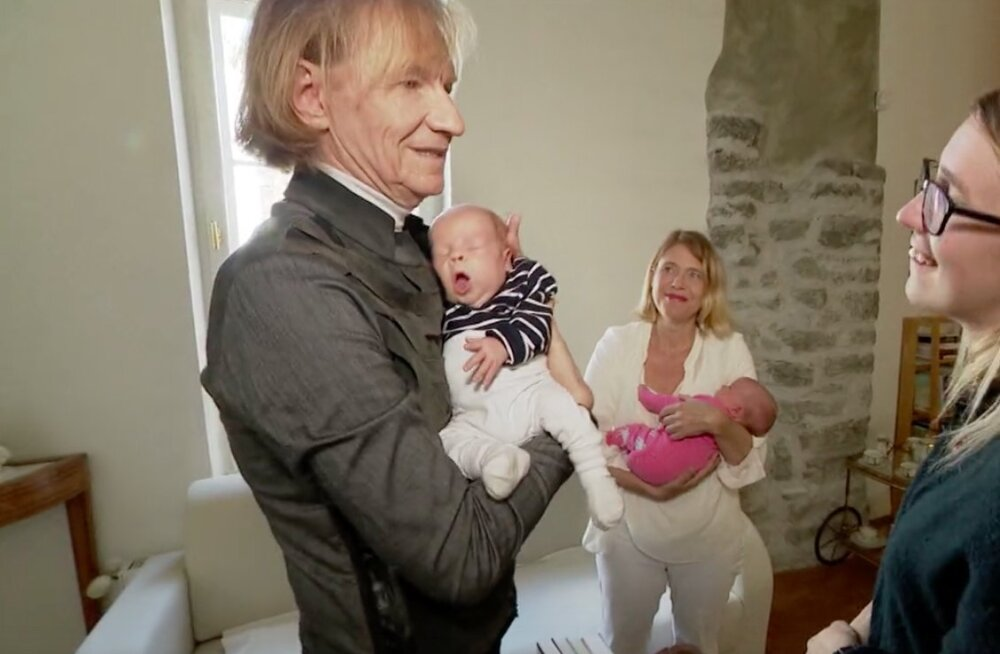 FOTOD | Ilmar Taska ja Hille Karm näitasid kaksikud: miks mitte ei võiks lapsi kasvatada vanem isa või ema?