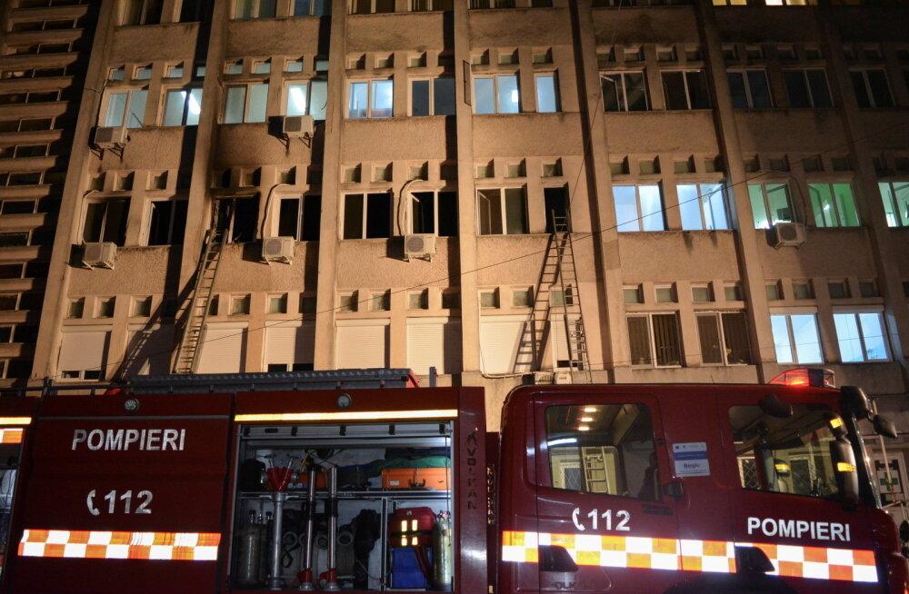 Rumeenias hukkus haiglaintensiivi põlengus kümme koroonapatsienti