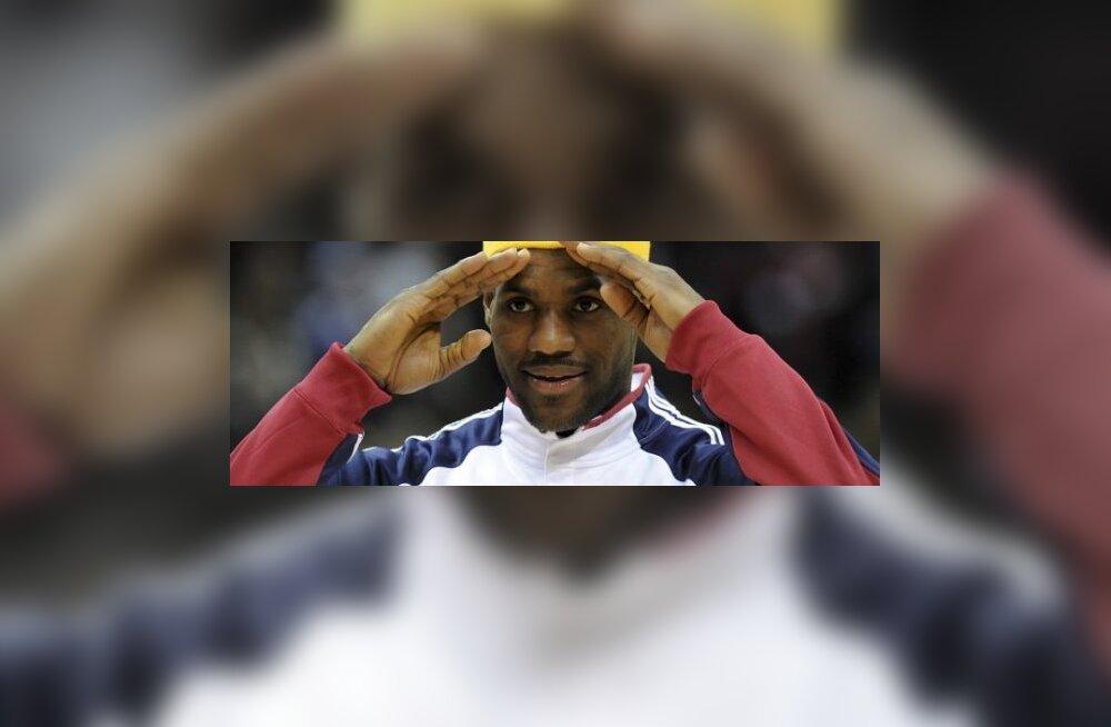 LeBron James, NBA, korvpall
