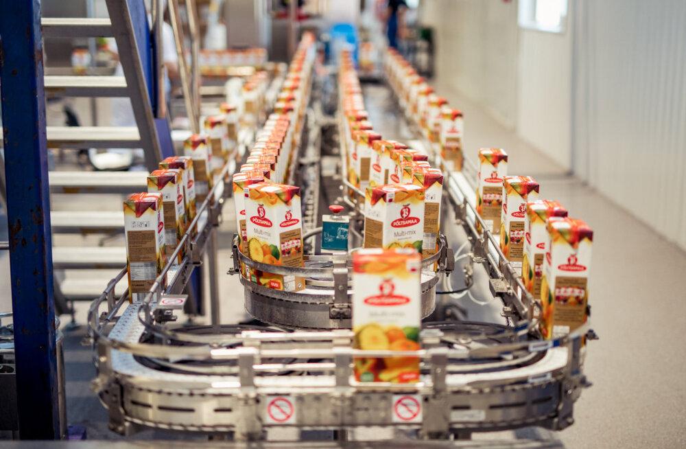 В Пылтсамаа открылся получивший 1,5-миллионное вливание завод по производству соков