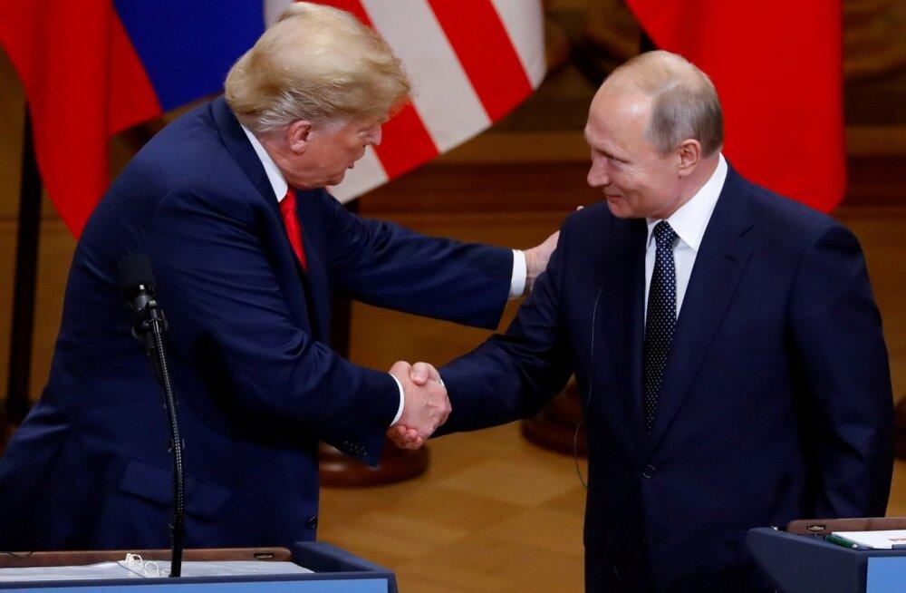 Trumpi sõnul kahepoolselt kohtumist tema ja Putini vahel Pariisis ilmselt ei toimu