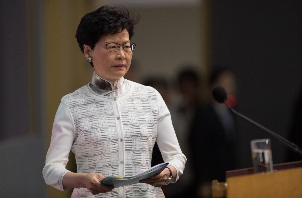 Власти Гонконга решили приостановить рассмотрение законопроекта об экстрадиции