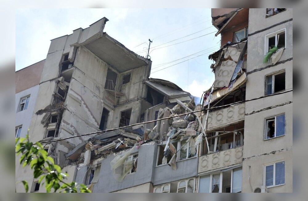 Majaplahvatuse Mõkolajivis võis põhjustada ühe elaniku enesetapp