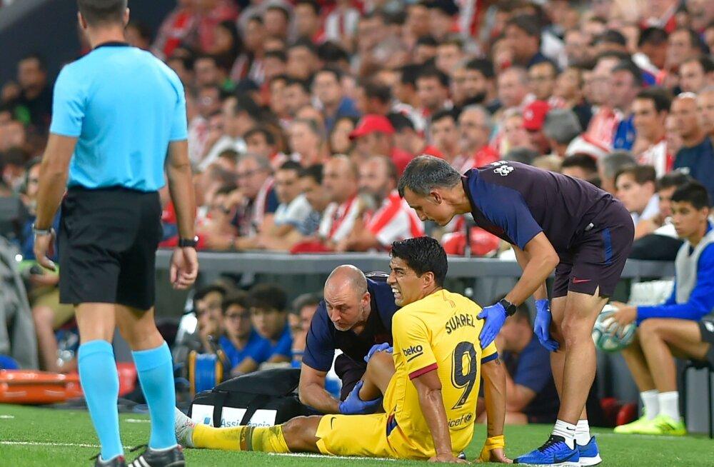 Hooaega üllatuskaotusega alustanud Barcelonat tabas veel üks valus hoop