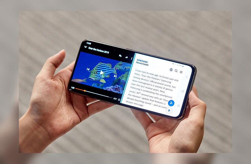 FORTE ARVUSTUS | Samsung Galaxy A80 - korealased lasid ise oma disainitähe taevast alla
