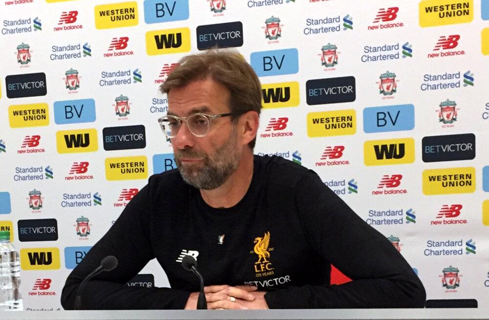 Jürgen Klopp tegi haiglasse pekstud Liverpooli fänni auks erilise žesti