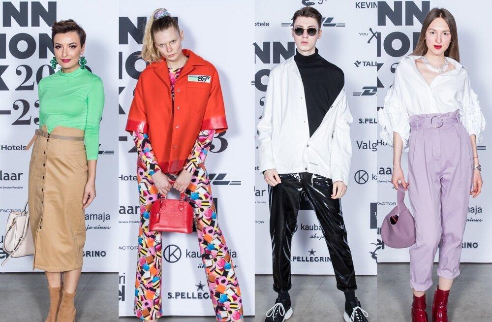 Модная полиция на Tallinn Fashion Week: самые стильные образы гостей (день 2)