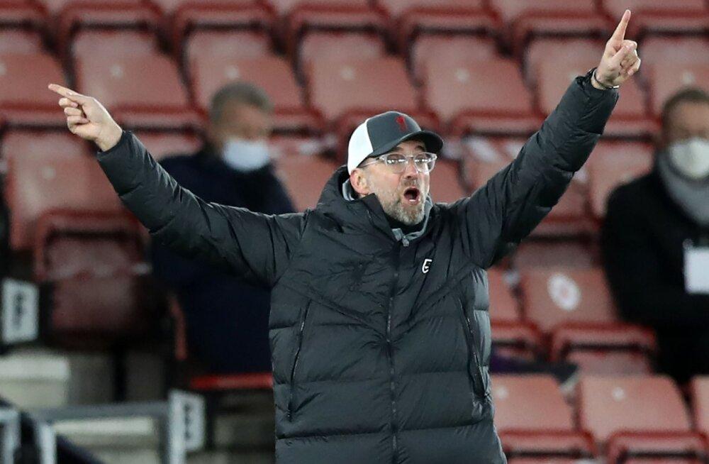 Pettunud Klopp: United on saanud kahe aastaga rohkem penalteid kui meie viie ja poolega kokku