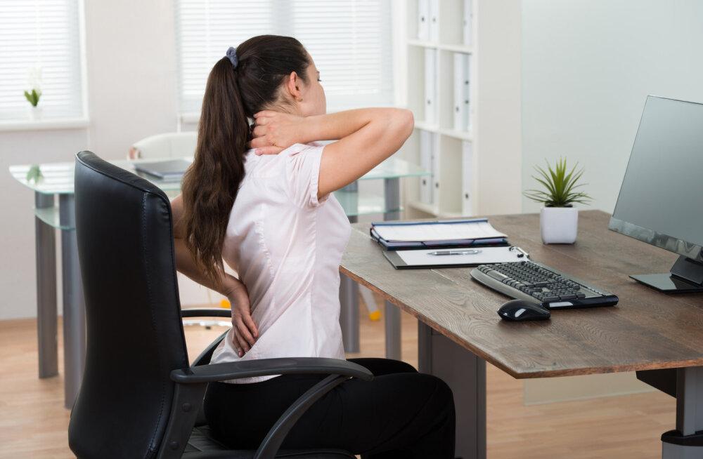 Istumisega seotud terviseriskid ja mida teha probleemide vältimiseks