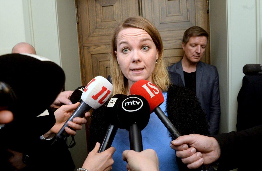Esinemishirmu vastu 50 000 euro eest koolitust saanud Soome rahandusminister astus tagasi