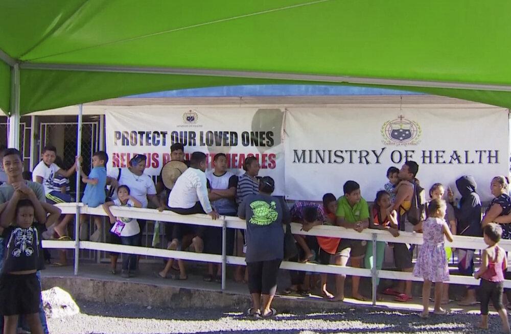 Leetrikriisis Samoal vahistati vaktsineerimisvastane aktivist