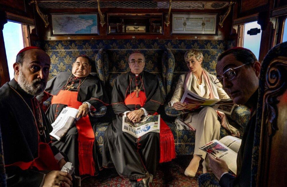 """Püha Tool jättis telesarja """"Uus paavst"""" tegijad Vatikani väravate taha"""