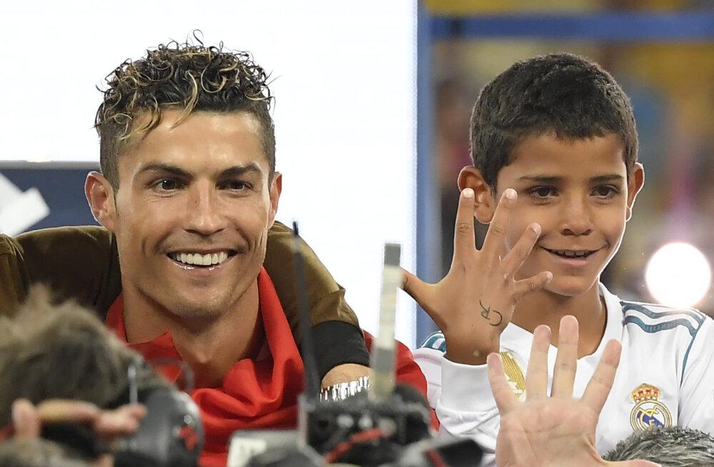 Cristiano Ronaldo minevik üllatas tema poega: kas sa tõesti elasid siin?