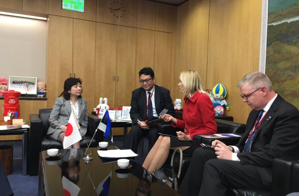 Minister Palo: Jaapani valitsus plaanib Eestiga majandussidemeid tihendada