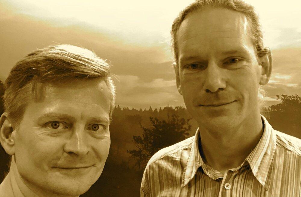 Kalev Pihl (paremalt) ja Veiko Valkiainen.