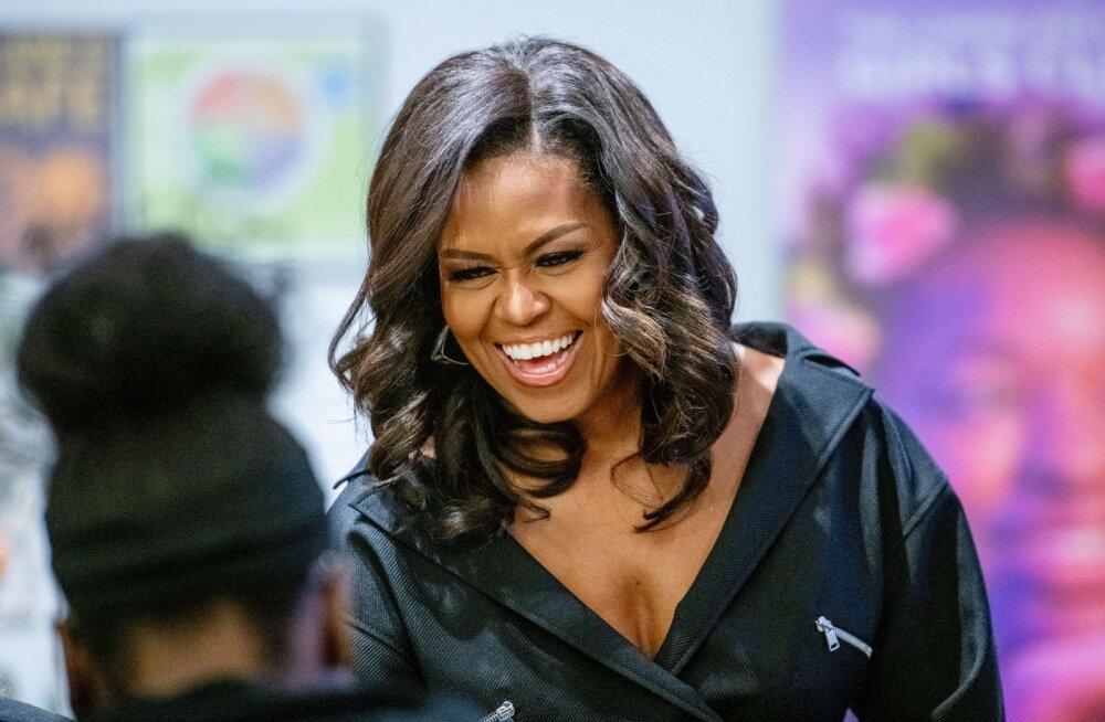Nalja nabani: vaata, mida Michelle Obama ema tütre Grammydel esinemisest arvab