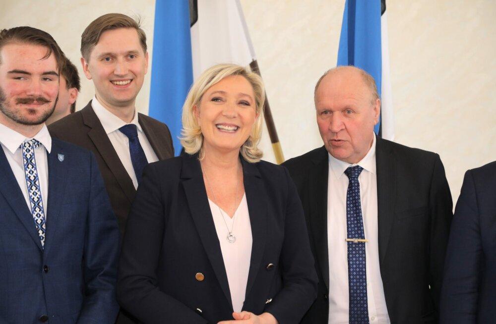 Prantsuse politoloog: Le Peni kohtumine Ruuben Kaalepiga on hiiglaslik möödapanek
