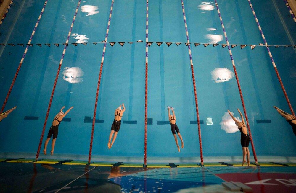 Eesti ujujad võitsid Baltimaade meistrivõistlused, sündis rekord juunioride teateujumises