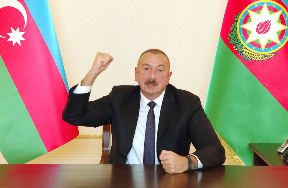 Aserbaidžaani president: Mägi-Karabahhi konfliktil on sõjaline lahendus