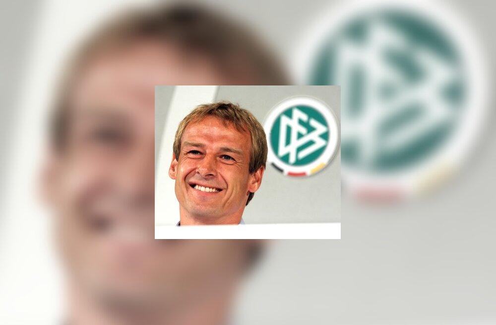 Saksamaa peatreener Jürgen Klinsmann