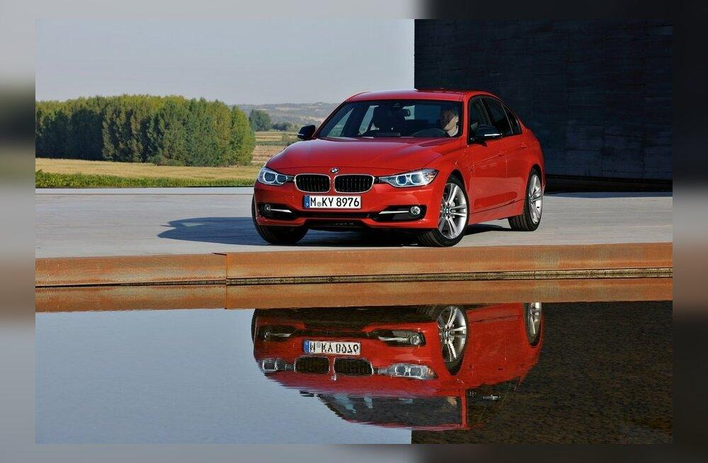 """Один из шести финалистов - """"тройка"""" BMW"""