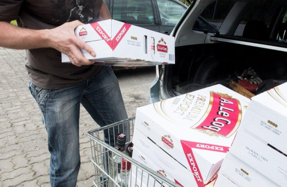 Alkoholi müük Valkas