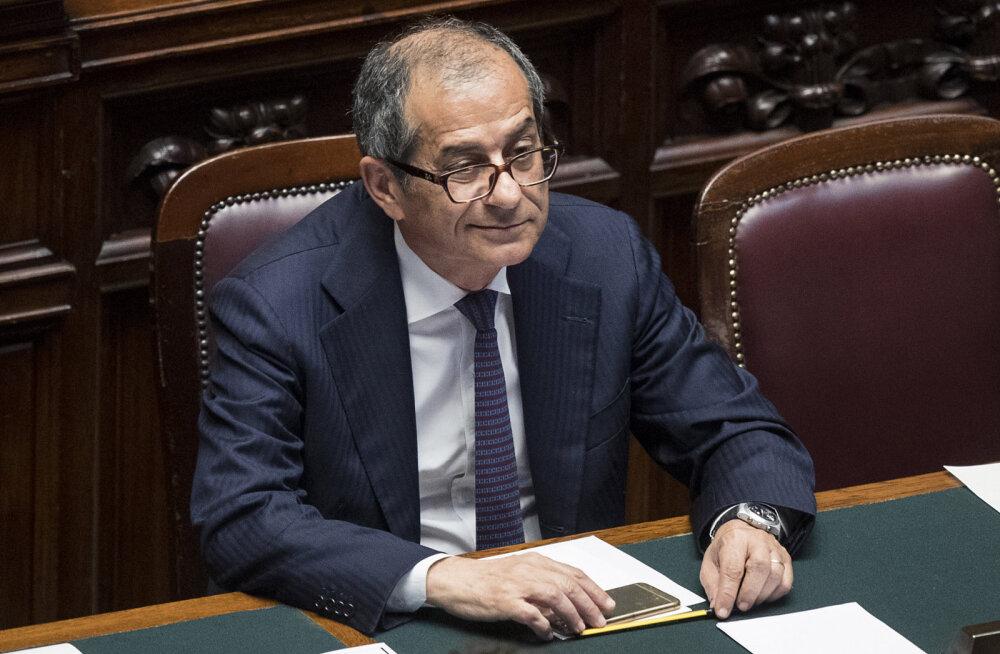 Itaalia rahandusminister seljatas finantsturgudel G7 tippkohtumise fiasko