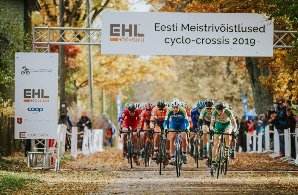 Eesti meistriteks cyclo-crossis krooniti Pajur ja Mõttus